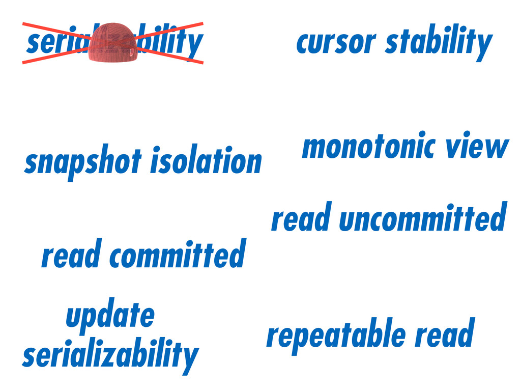 serializability snapshot isolation read committ...