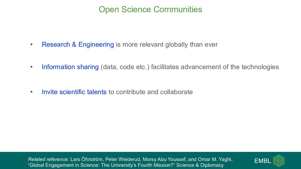 • Research & Engineering is more relevant globa...