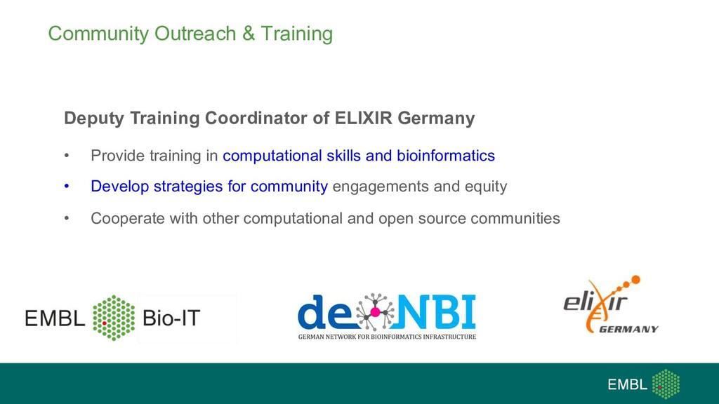 Community Outreach & Training Deputy Training C...
