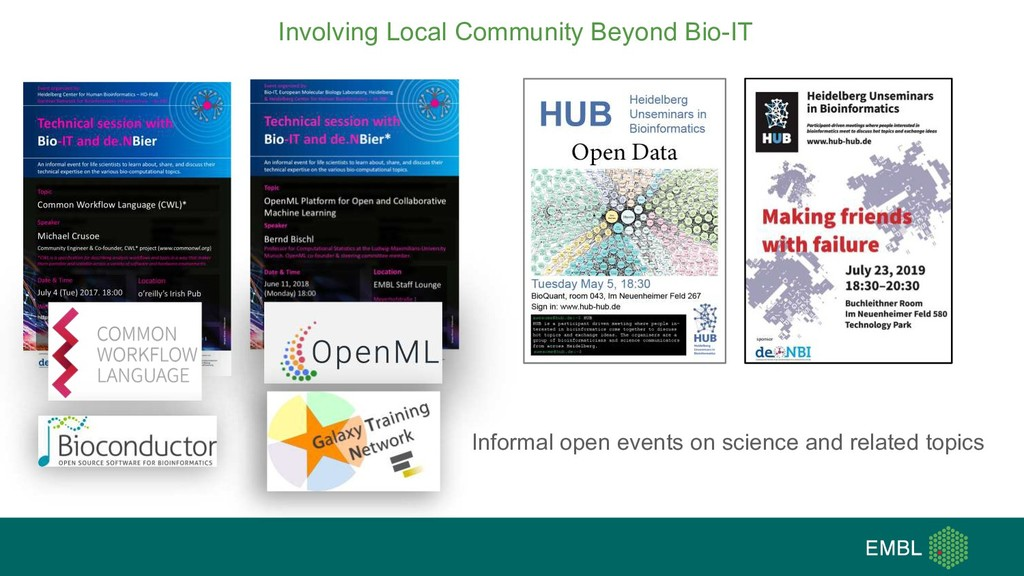 Involving Local Community Beyond Bio-IT Informa...