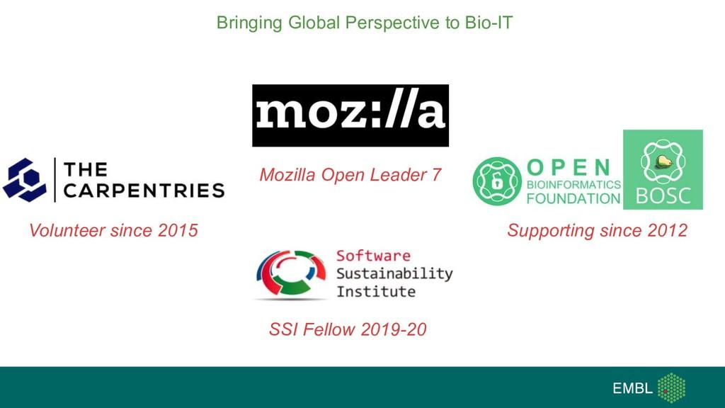 Bringing Global Perspective to Bio-IT Volunteer...