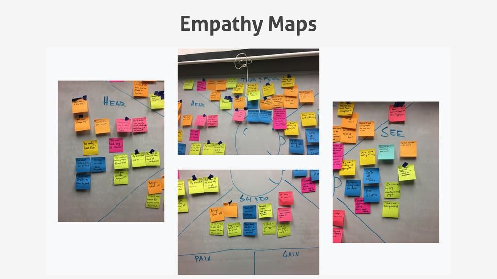 Empathy Maps