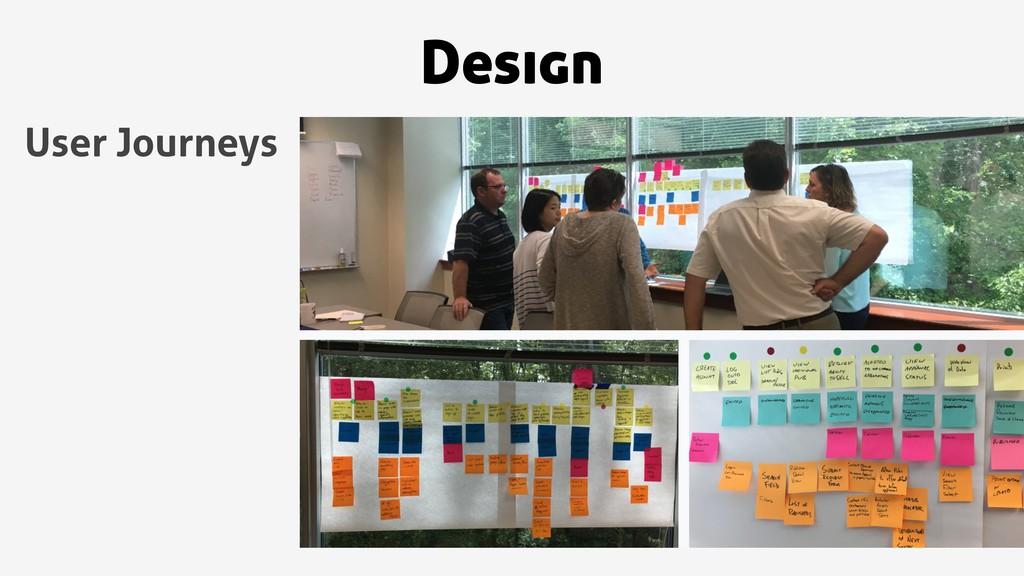 Design User Journeys