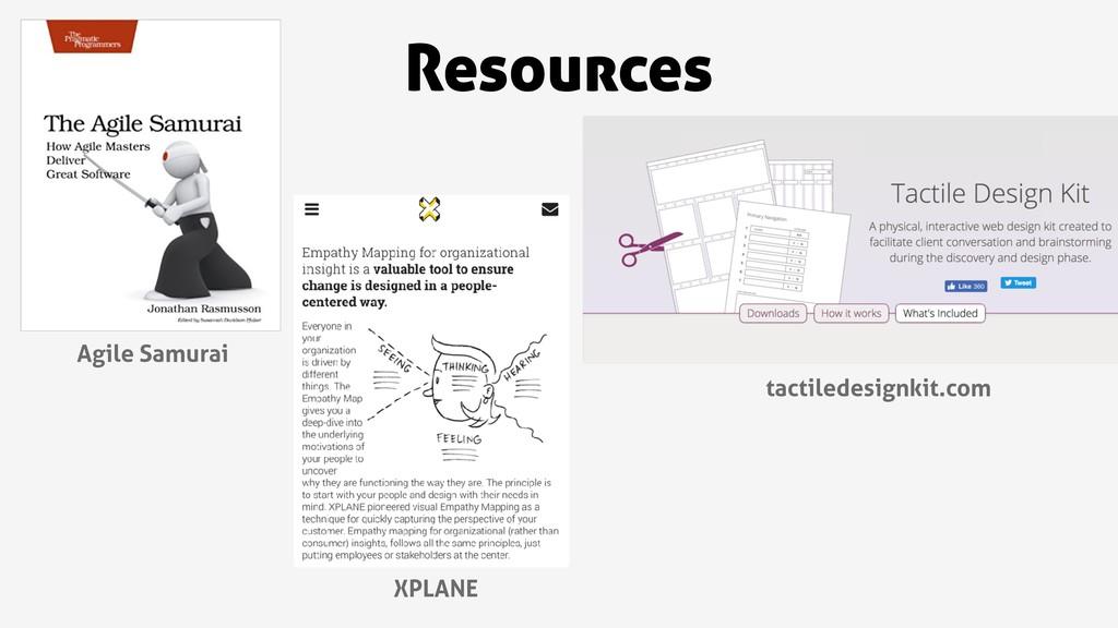 Resources tactiledesignkit.com XPLANE Agile Sam...