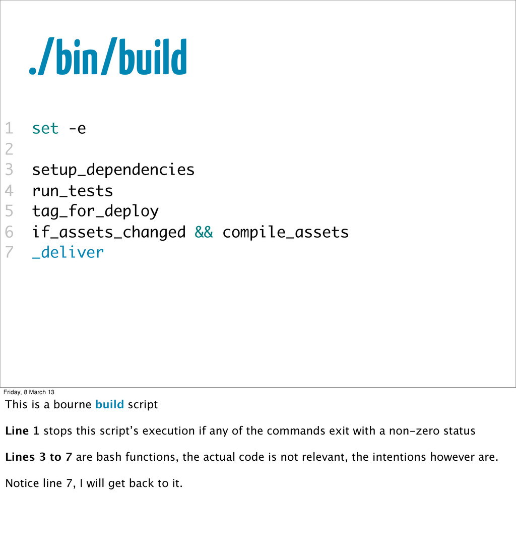 ./bin/build 1 set -e 2 3 setup_dependencies 4 r...