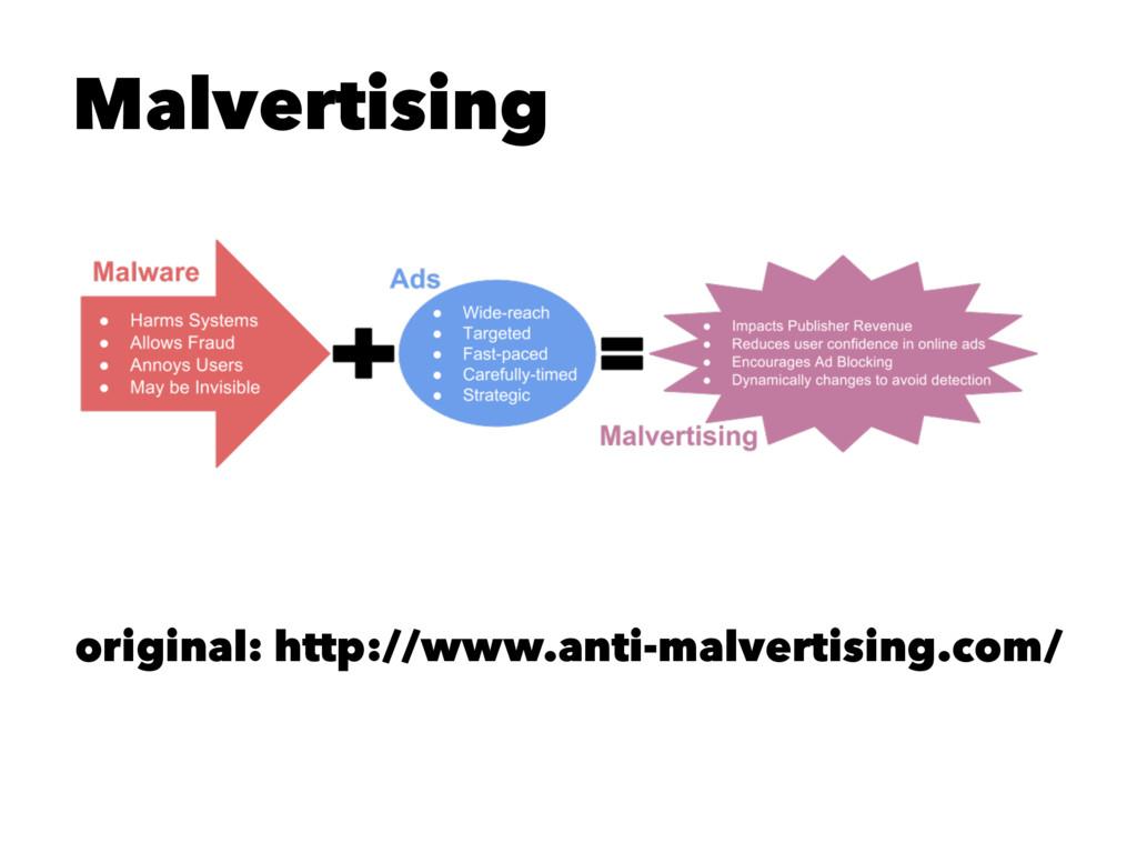 Malvertising original: http://www.anti-malverti...