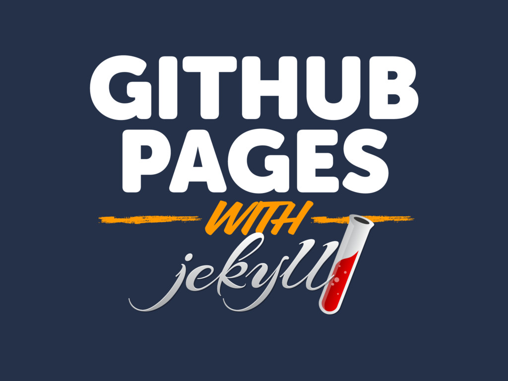 GITHUB PAGES WITH