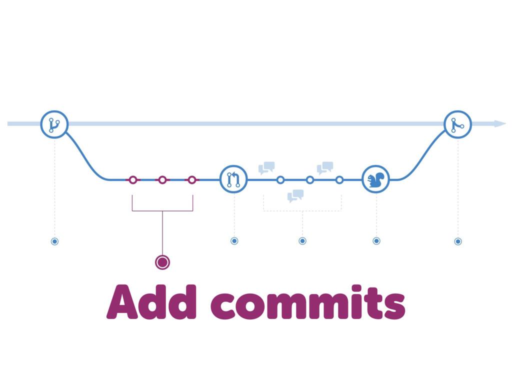 Add commits