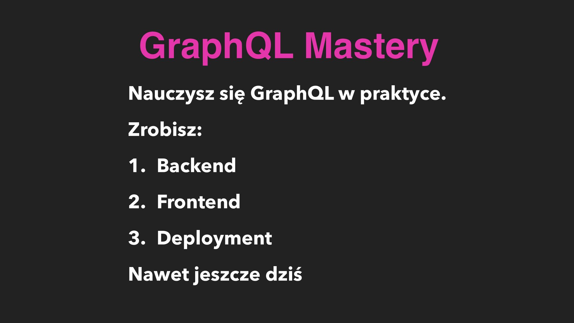 CZY MACIE JAKIEŚ PYTANIA? Q&A GraphQL.pl/click