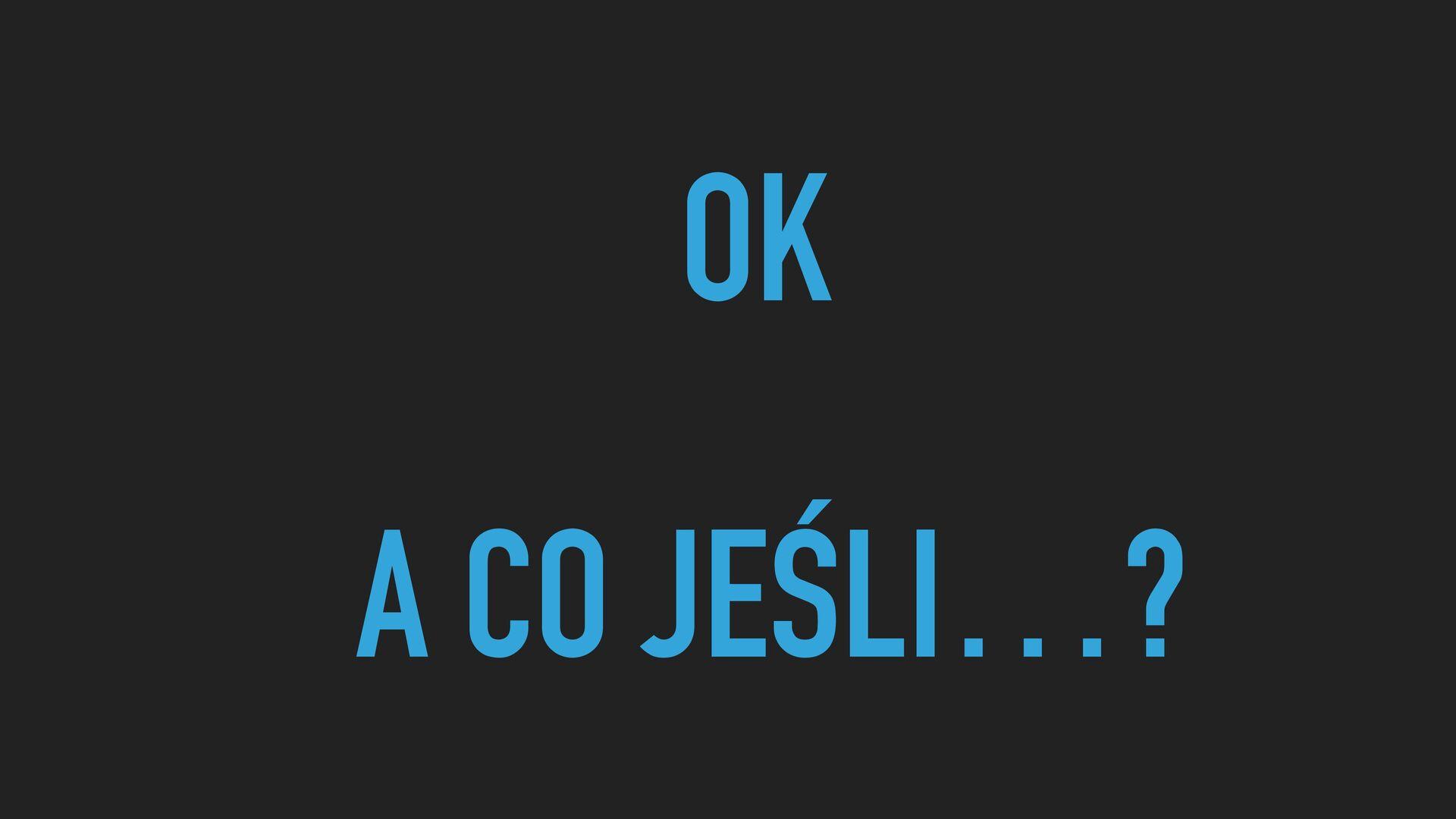 KTOŚ UŻYJE ALIASÓW?