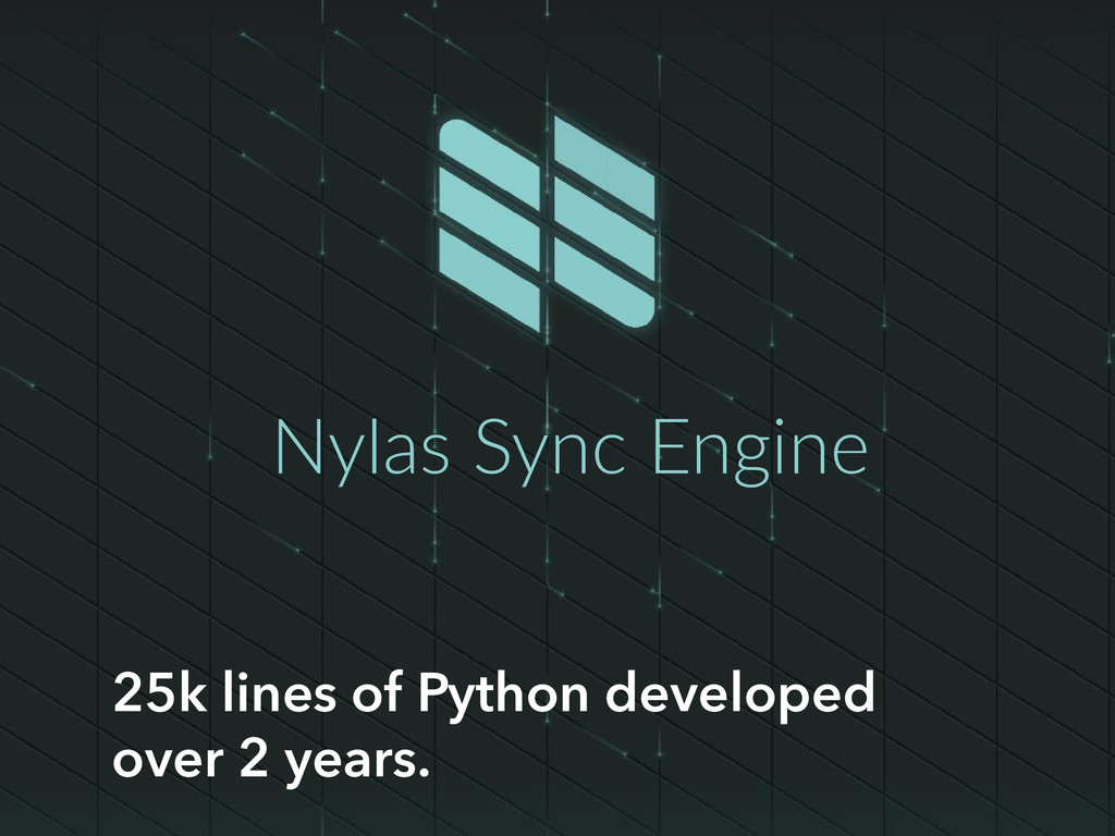 25k lines of Python developed over 2 years. Nyl...