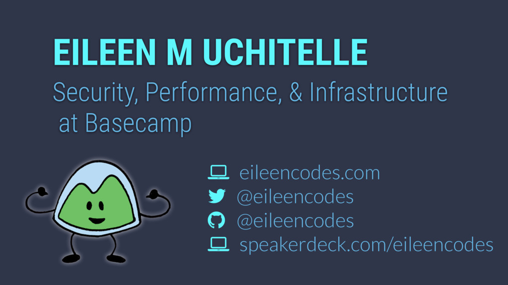 EILEEN M UCHITELLE Security, Performance, & Inf...