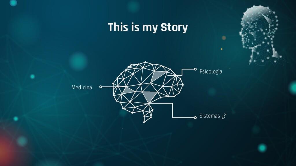 This is my Story Psicología Sistemas ¿? Medicina