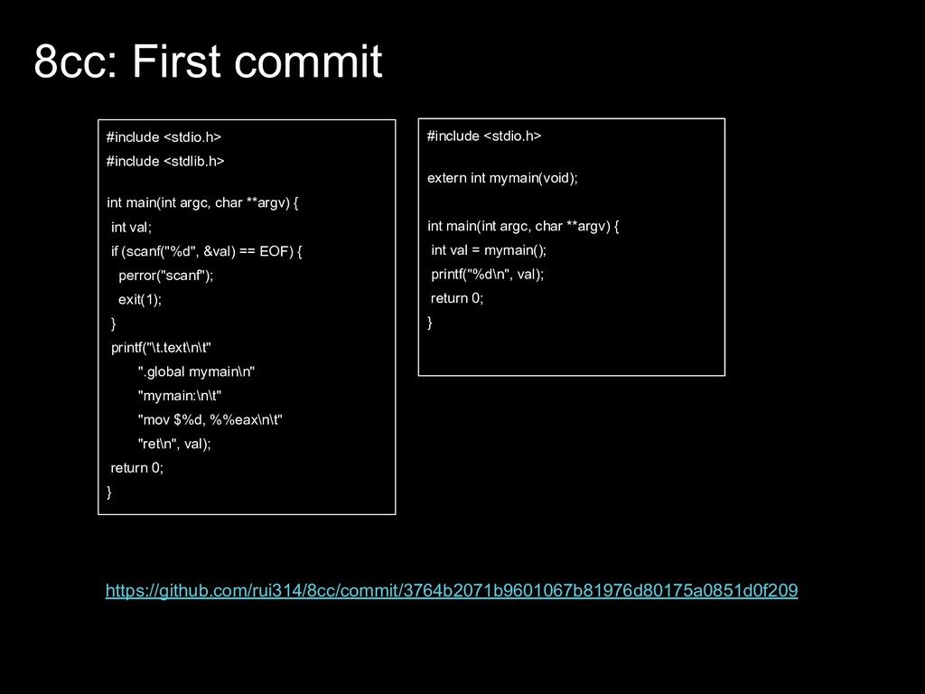 8cc: First commit #include <stdio.h> #include <...
