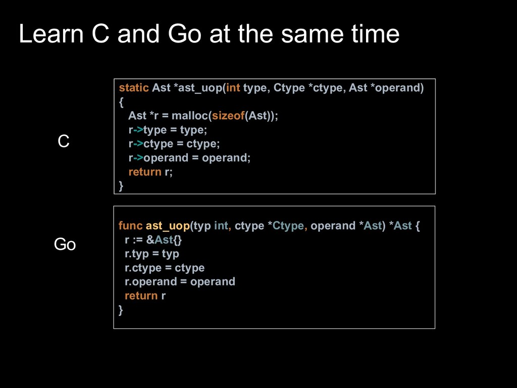 static Ast *ast_uop(int type, Ctype *ctype, Ast...