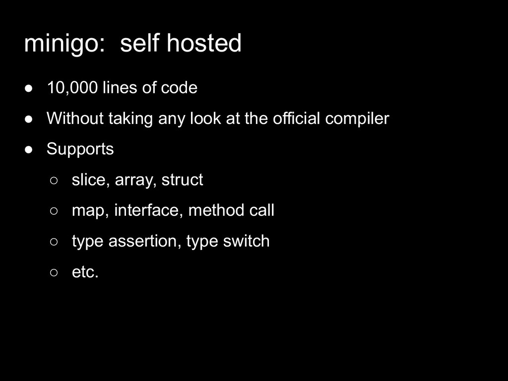 ● 10,000 lines of code ● Without taking any loo...