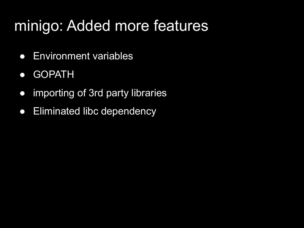 minigo: Added more features ● Environment varia...