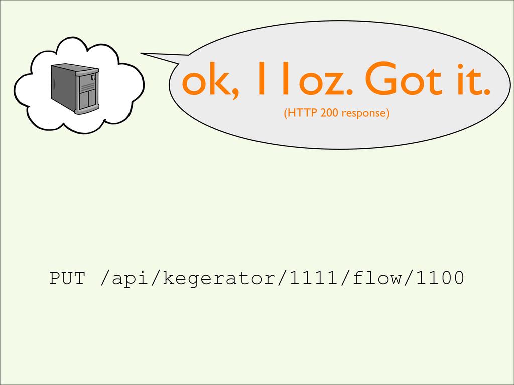 ok, 11oz. Got it. (HTTP 200 response) PUT /api/...