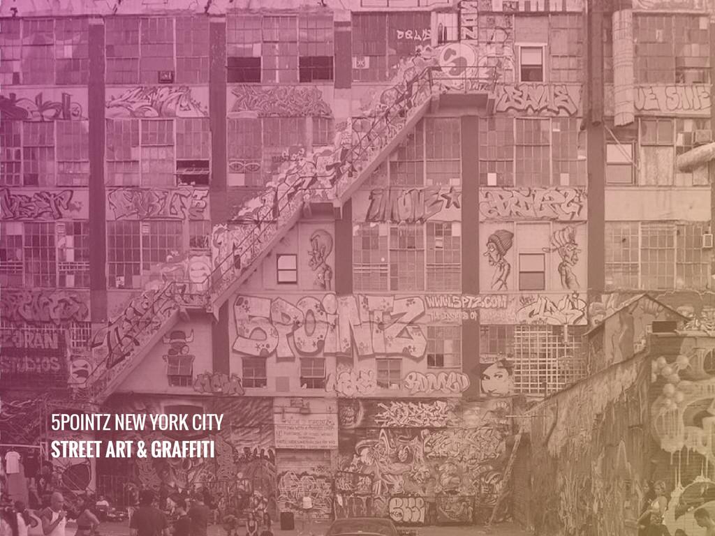 5POINTZ NEW YORK CITY STREET ART & GRAFFITI