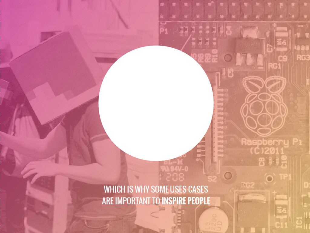 WHICH IS WHY SOME USES CASES ARE IMPORTANT TO I...