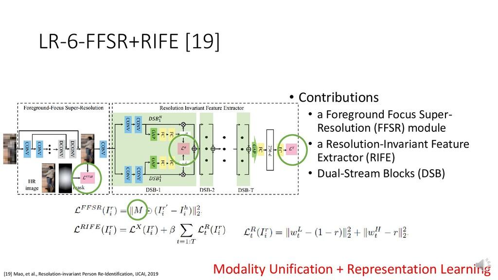 LR-6-FFSR+RIFE [19] [19] Mao, et al., Resolutio...