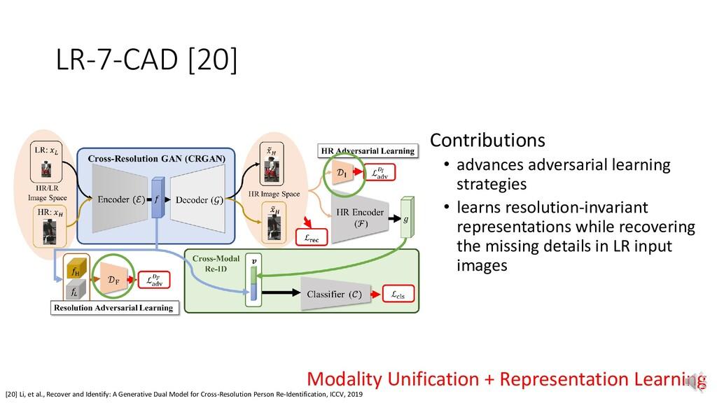 LR-7-CAD [20] [20] Li, et al., Recover and Iden...