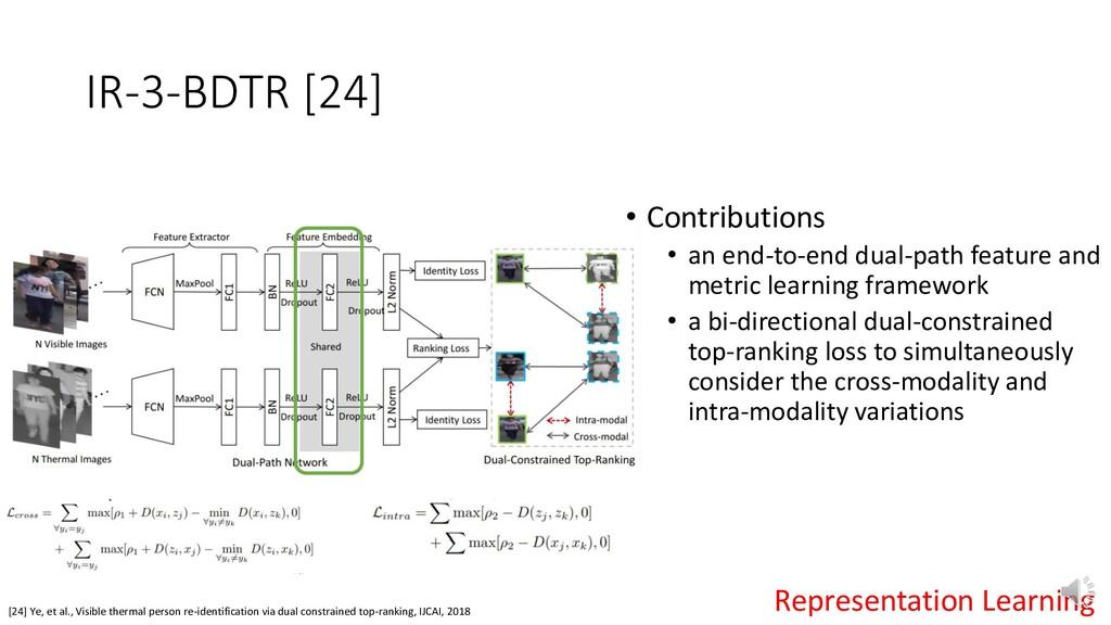 IR-3-BDTR [24] [24] Ye, et al., Visible thermal...
