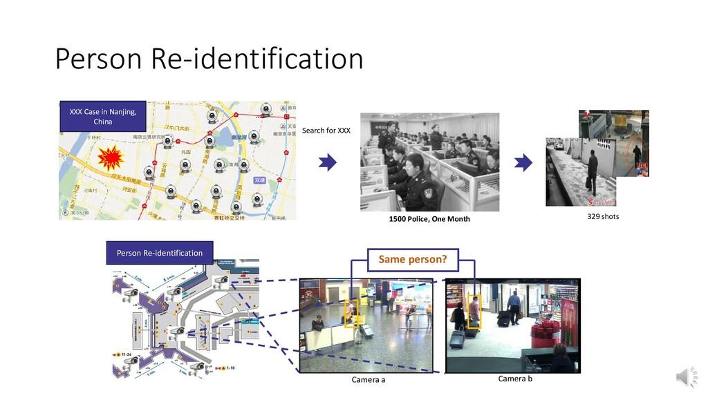 Person Re-identification XXX Case in Nanjing, C...