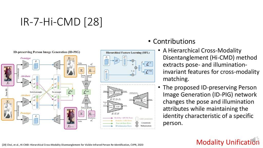 IR-7-Hi-CMD [28] [28] Choi, et al., Hi-CMD: Hie...