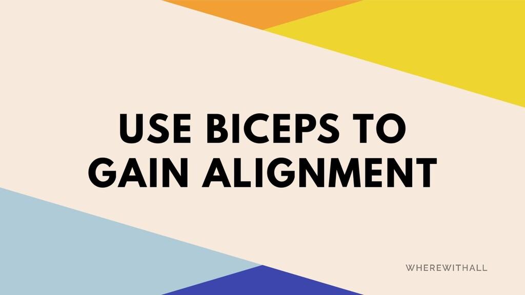 gain alignment
