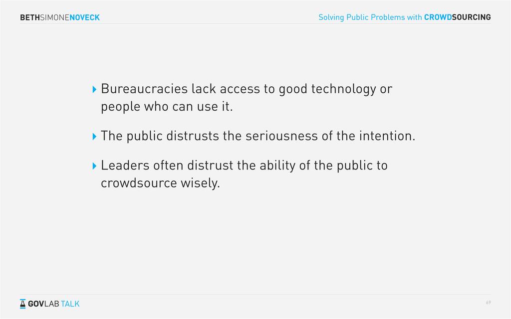 BETHSIMONENOVECK TALK Solving Public Problems w...
