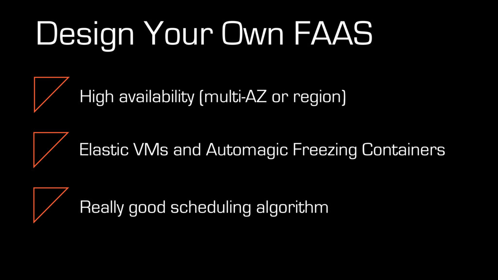 Design Your Own FAAS High availability (multi-A...