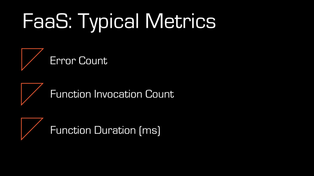 FaaS: Typical Metrics Error Count Function Invo...
