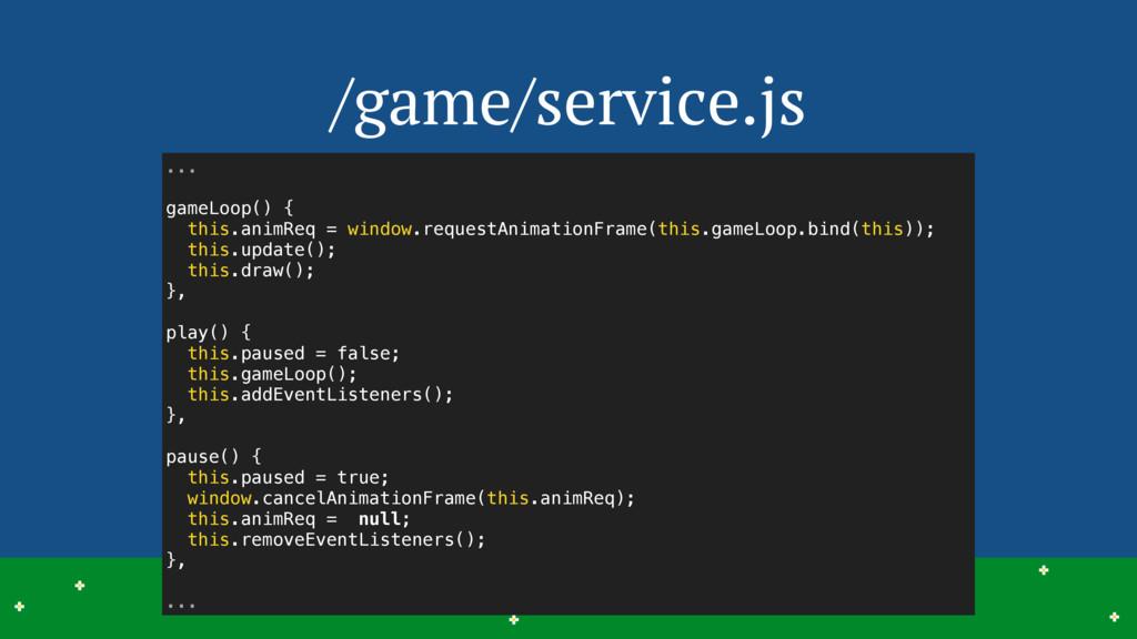/game/service.js 19 > > > > > > > > > > > > > >...