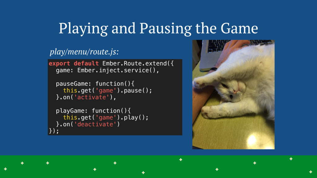 Playing and Pausing the Game 20 > > > > > > > >...