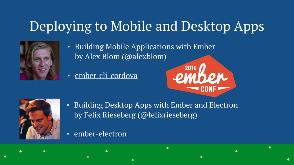 Deploying to Mobile and Desktop Apps 27 > > > >...