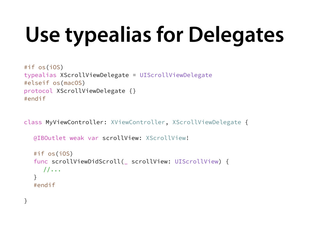 Use typealias for Delegates JGPT J04  UZQFBM...