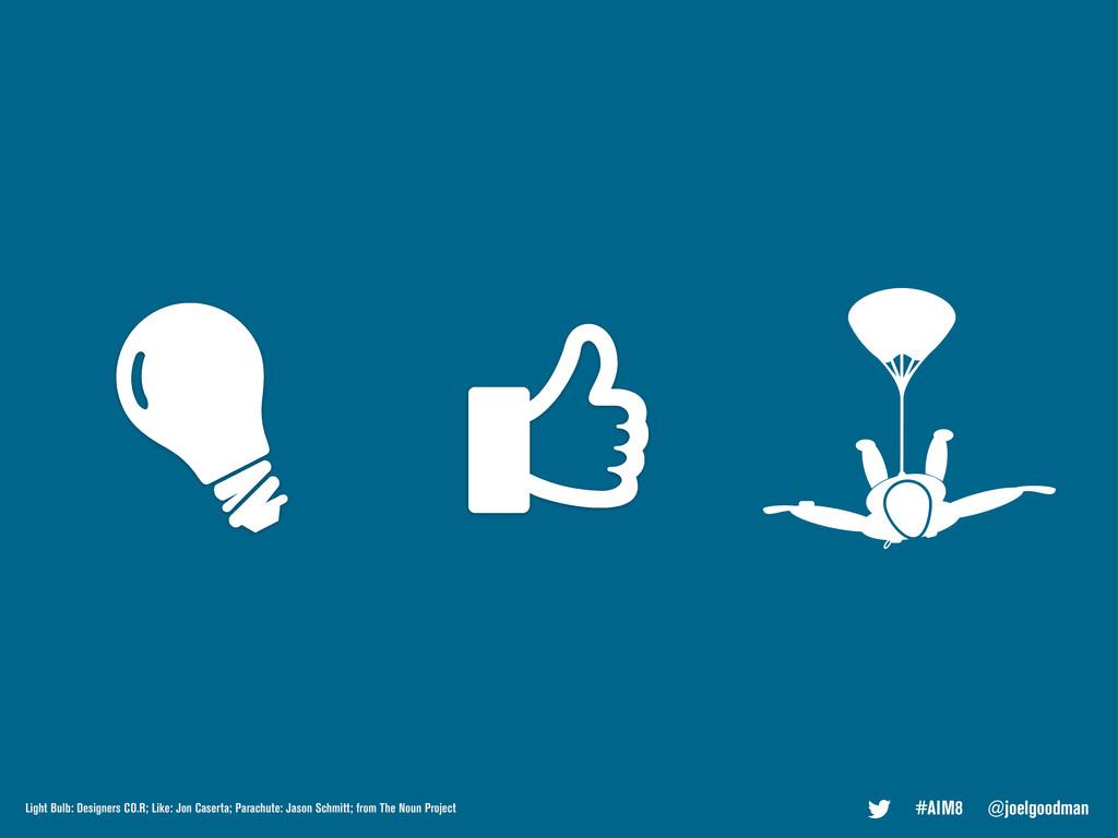 #AIM8 @joelgoodman Light Bulb: Designers CO.R; ...