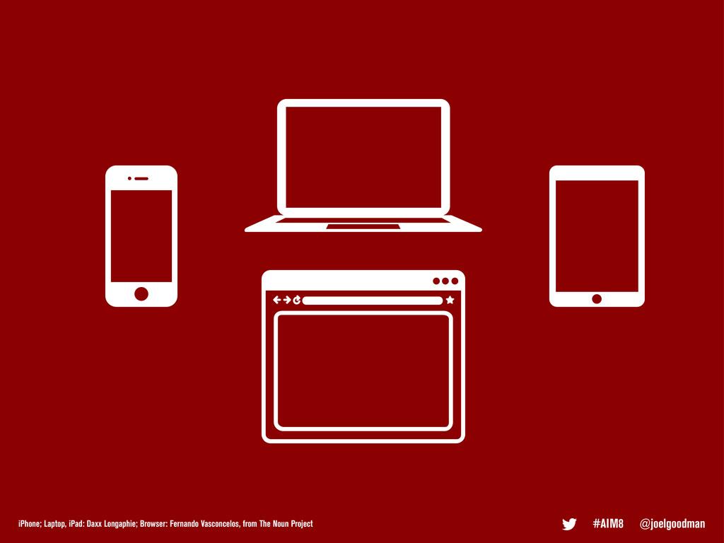 #AIM8 @joelgoodman iPhone; Laptop, iPad: Daxx L...