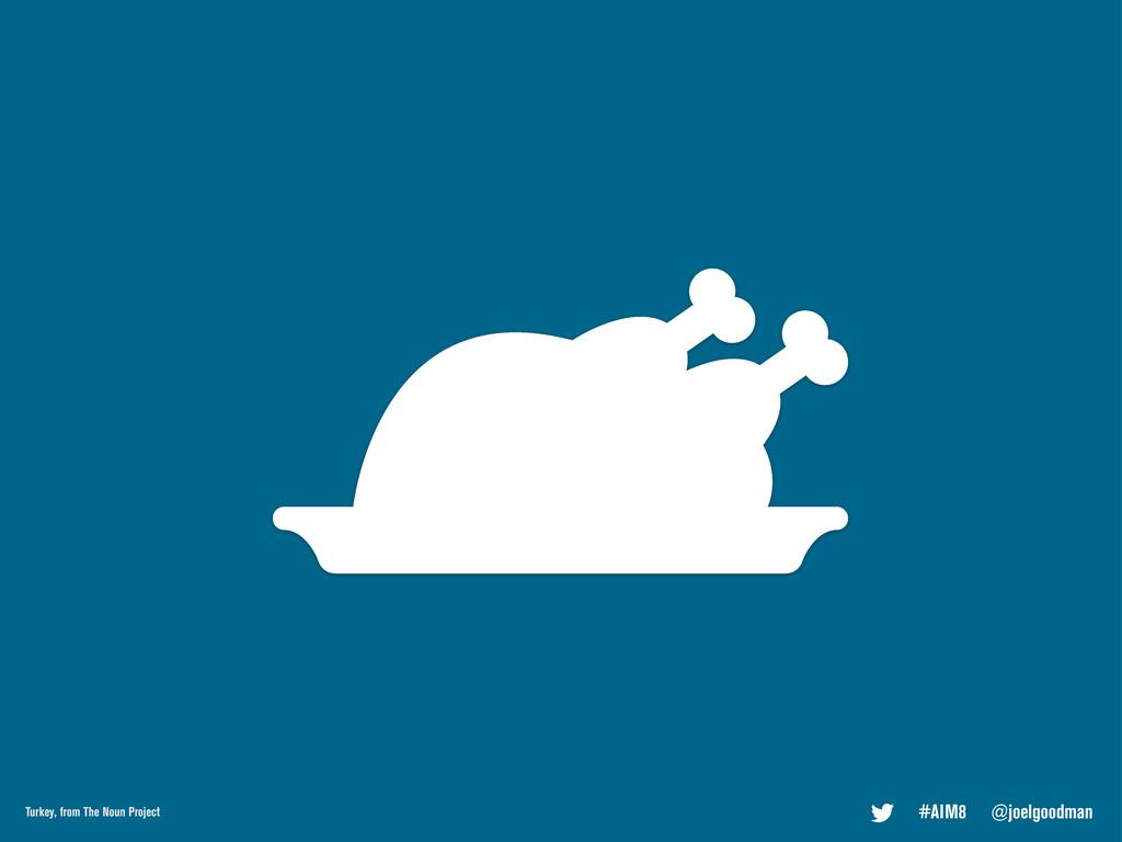 #AIM8 @joelgoodman Turkey, from The Noun Project