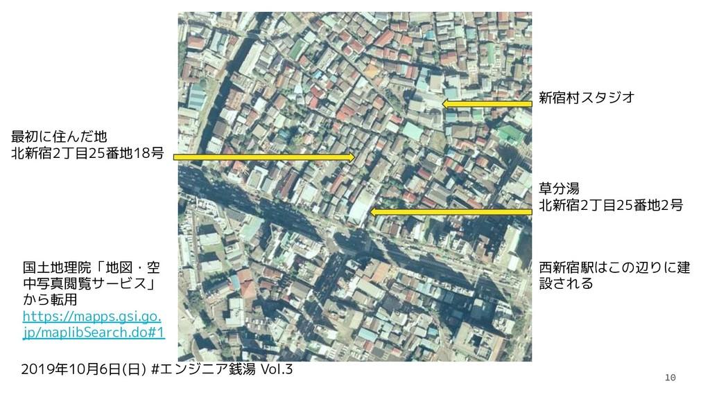 2019年10月6日(日) #エンジニア銭湯 Vol.3 10 草分湯 北新宿2丁目25番地2...
