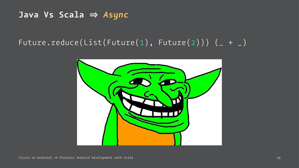 Java Vs Scala 㱺 Async Future.reduce(List(Future...