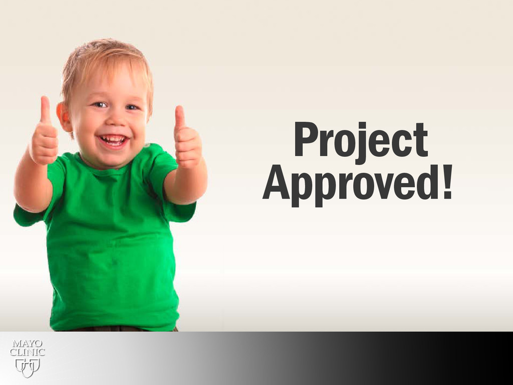 13 Project Approved!