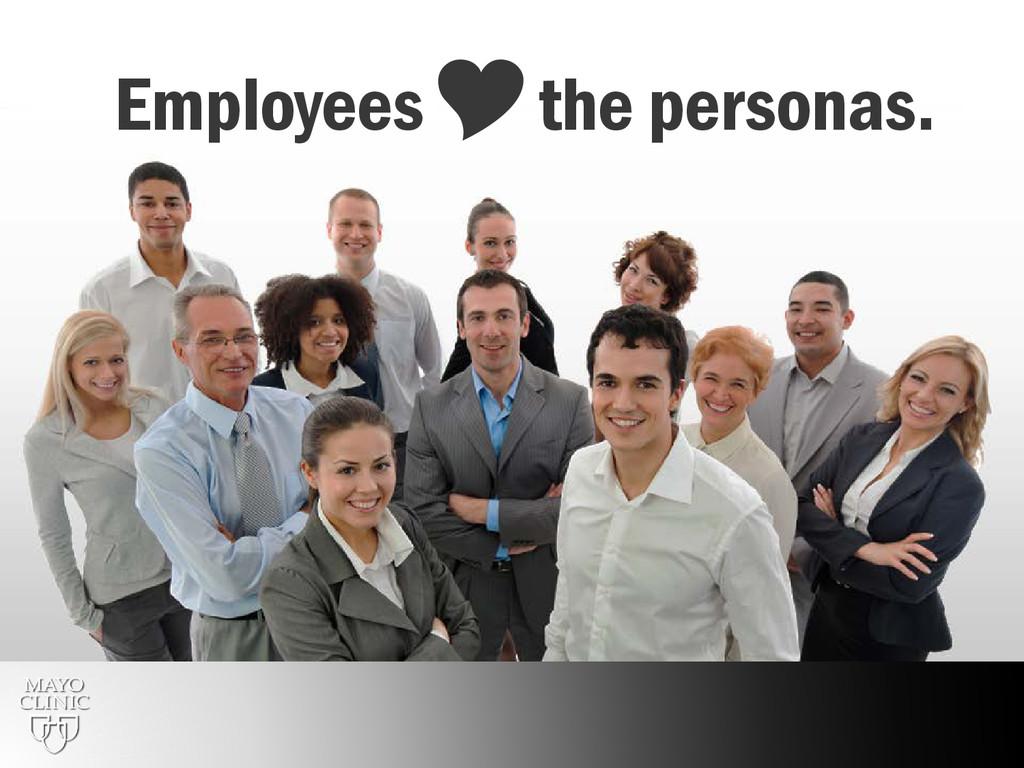 31 Employeesthe personas.