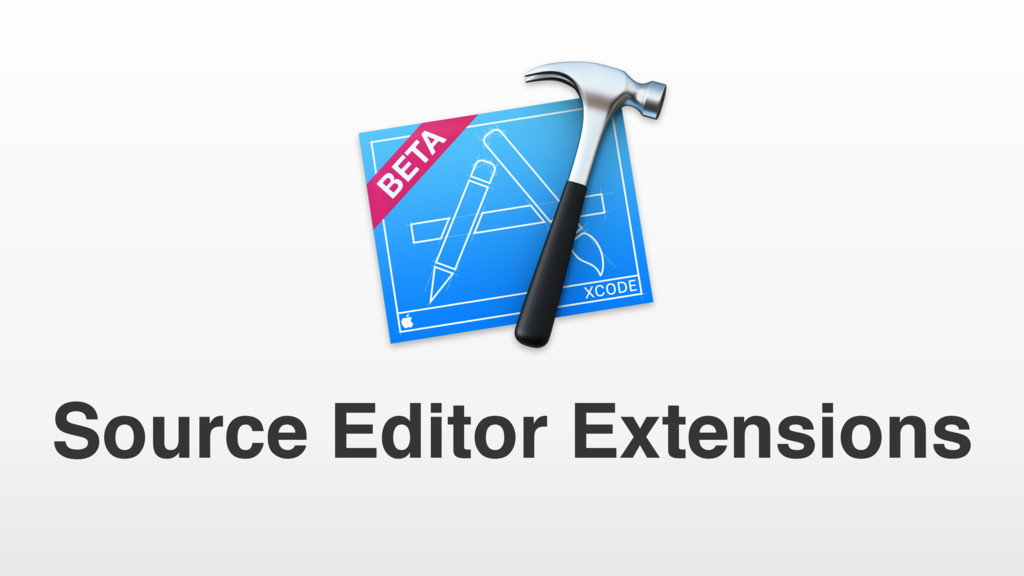 Source Editor Extensions