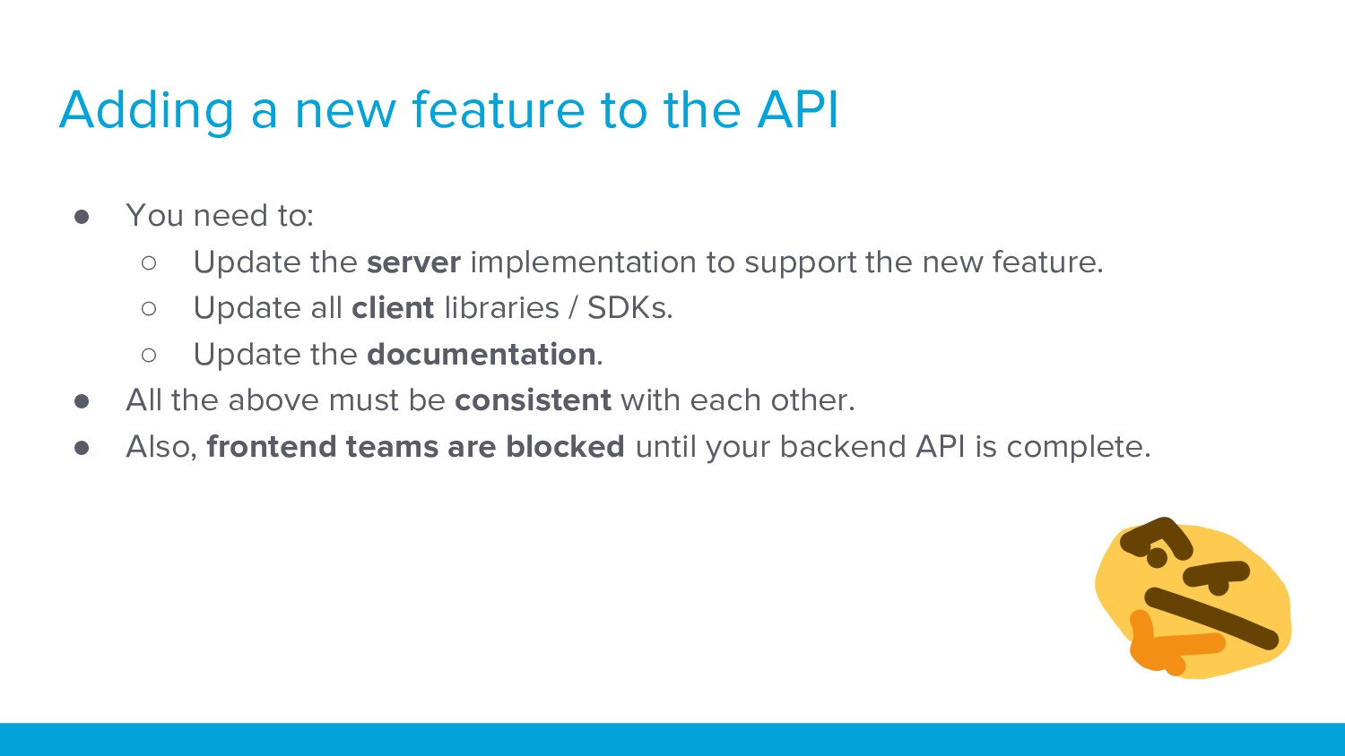● You need to: ○ Update the server implementati...