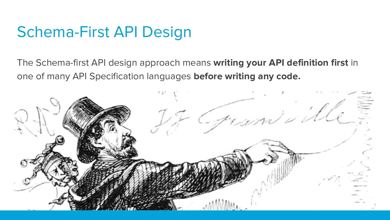 Schema-First API Design The Schema-first API de...