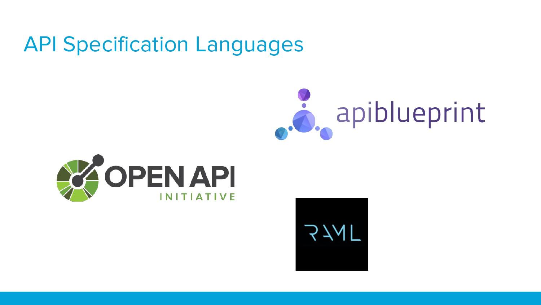 API Specification Languages