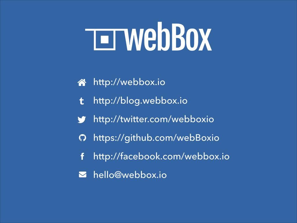 http://webbox.io http://blog.webbox.io http://t...