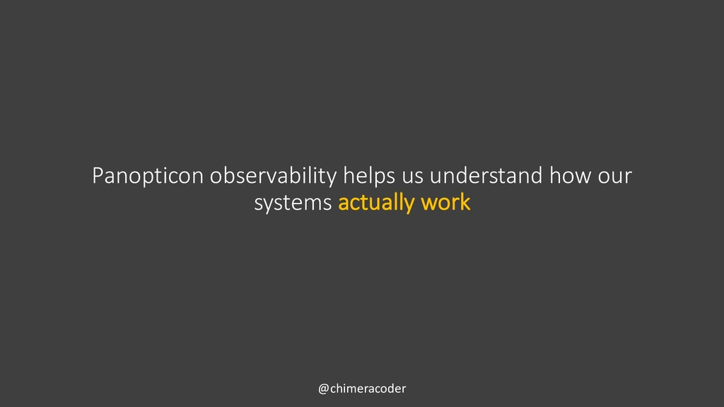 Panopticon observability helps us understand ho...